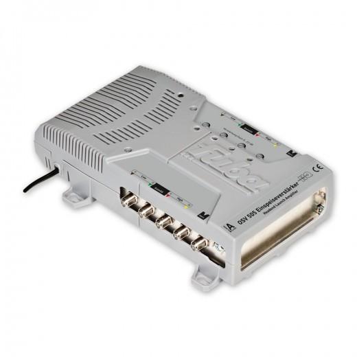 Fuba OSV 505 Einspeiseverstärker | für Kaskadensysteme mit 4 Sat-Leitungen, 1 Satellit, Fuba OSK5 und FMK5