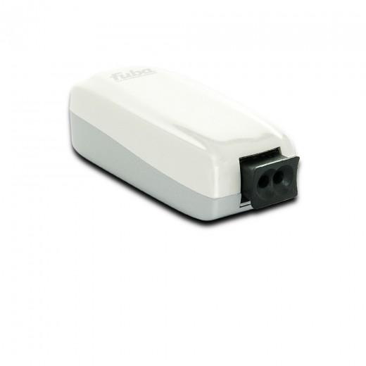 Fuba WebFiber 1110 Lichtleiter-Adapter Heimnetzwerk 1x POF 1x RJ45 1GBit/s