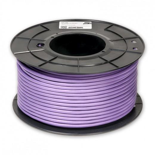 Fuba GKA 600 100m-Rolle hochwertiges Cat6 Netzwerk Installationskabel violett