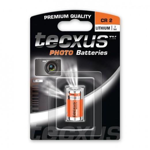 Tecxus CR2 Photo Lithium Foto Batterie 3 Volt 750 mAh