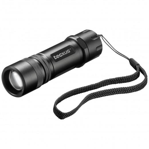 tecxus rebellight X130 LED-Taschenlampe,3x LR03,130 Lumen