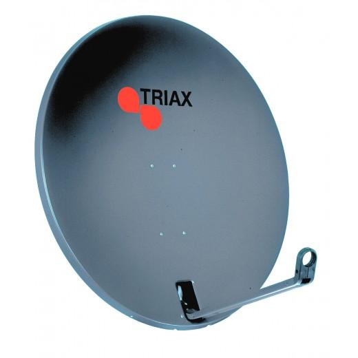 Triax TDA 78A-1 Offsetantenne,80cm,anthrazit,Euroline