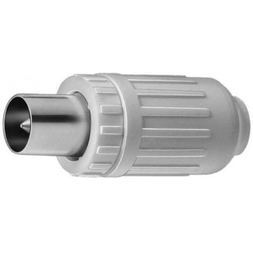 Triax  Kos 3 N IEC- Stecker, weiß
