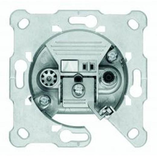 Triax EDS 01 F 2-Loch SAT-Einzeldose 1,2dB Anschlussdämpfung Kabelmodem-tauglich