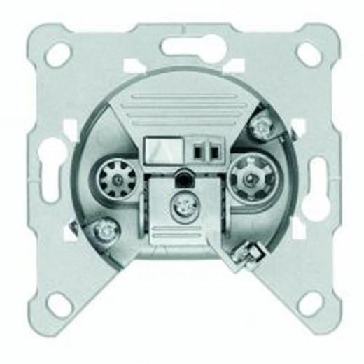 Triax FS 07 2-Loch BK-Durchgangsdose 8,0dB Anschlussdämpfung Kabelmodem-tauglich