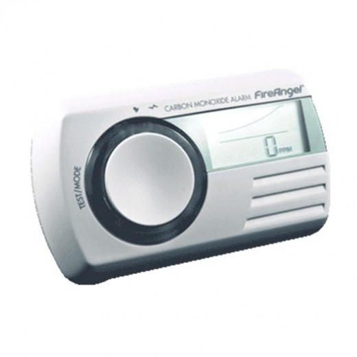 FireAngel CO-9DE Kohlenmonoxidmelder | batteriebetrieben, 85dB Alarmgeber, LCD-Display