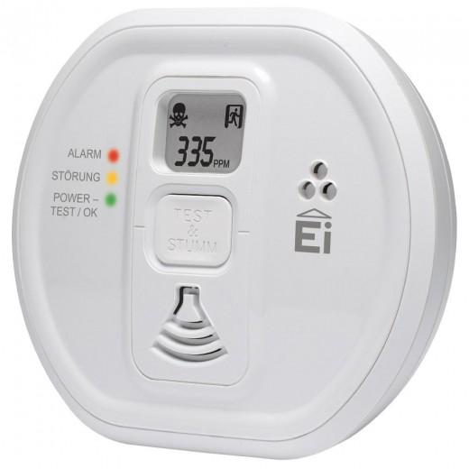 Ei Electronics Ei 208 D 10-Jahres Kohlenmonoxidwarnmelder mit Display