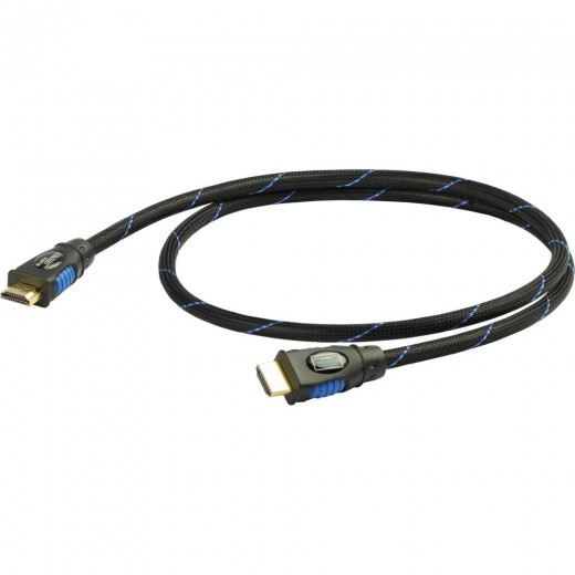 Black Connect HDMI Slim HDMI-Kabel 2,50m