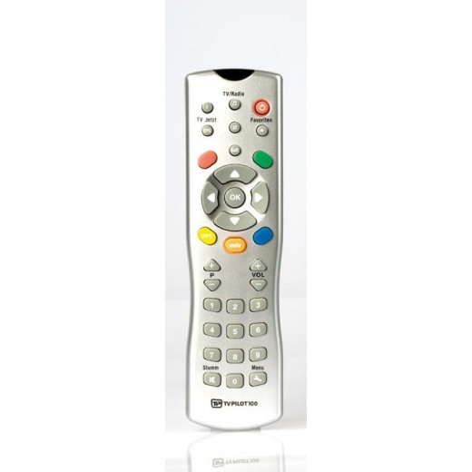 TechnoTrend TV-Pilot 100 Original-Fernbedienung für alle TechnoTrend micro-Modelle, S202, S302, S305, S320, S326, S330, C201, C202, C254, C264, C274, C320 und T330TT