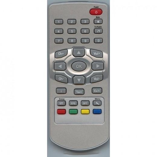 TechnoTrend 012000010 Fernbedienung Original-Fernbedienung für alle Scart-TV Receiver: S100, S102, S106, C102 und T120