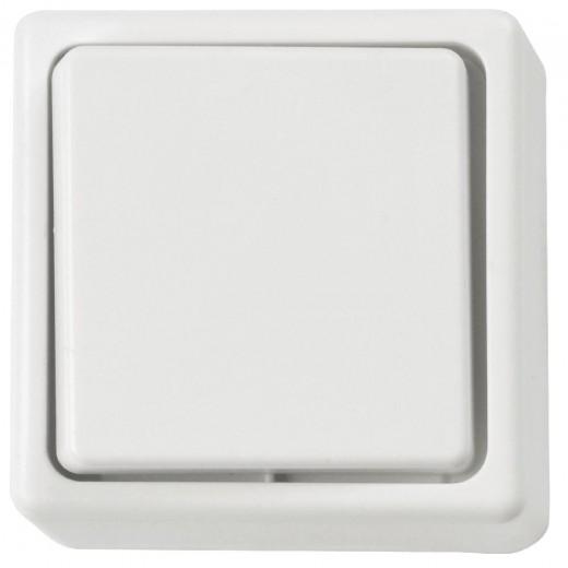 Heitech Wechselschalter 2-polig,AP,weiß,Innen