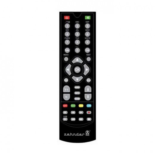 Zehnder Original Fernbedienung für HX 7100 HDTV-Receiver
