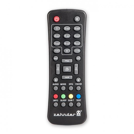 Zehnder Original-Fernbedienung für Zehnder DX 80e DVB-S Receiver