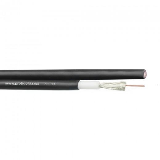 Profigold PGC 8156 Lautsprecherkabel 50m-Rolle schwarz 2x 1,5mm²