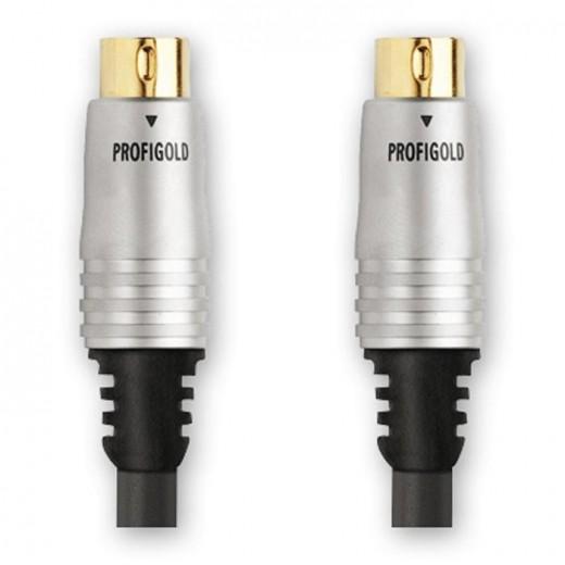Profigold PGV6605 (5,00 m) S-VHS-Stecker - S-VHS-Stecker