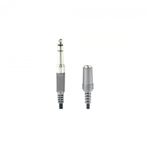 Bandridge AL335 (3,00 m) 3,5mm/6,3mm Klinken-Stecker Stereo auf 3,5mm Klinken-Kupplung Stereo