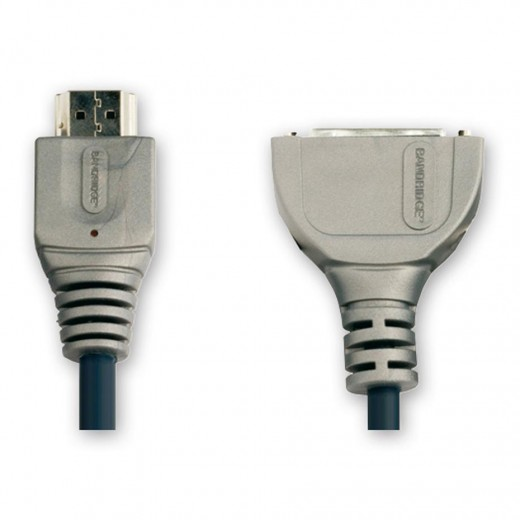 Bandridge VAP1102 (0,15 m) HDMI-A-Stecker auf DVI-D-Kupplung