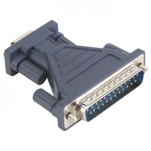 BANDRIDGE BCP 260 Adapter 9Pin (D-sub) Kupplung auf 25Pin (D-sub) Stecker