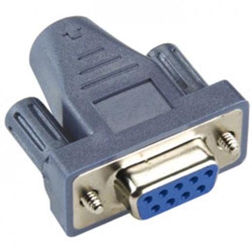 BANDRIDGE BCP 860 Adapter 9Pin (D-sub) Kupplung auf 6Pin-Mini-Din Kupplung