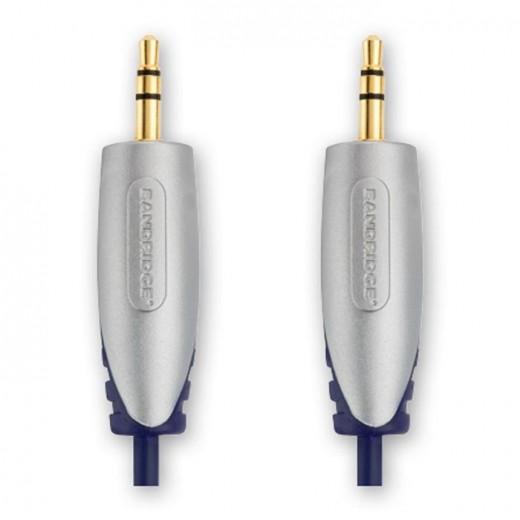 BANDRIDGE SAL 3301 (1,00 m) 3,5mm-Klinkenstecker-Stereo auf 3,5mm-Klinkenstecker-Stereo in 1,00m Länge