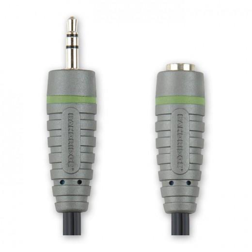 BANDRIDGE BAL 3603 (3,00 m) 3,5mm-Klinkenstecker-Stereo auf 3,5mm-Klinkenkupplung-Stereo in 3,00m Länge