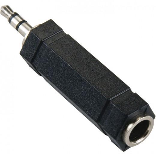 BANDRIDGE BAP 446 (0,00m/Adapter) 3,5mm-Klinkenstecker-Stereo auf 6,3mm-Klinkenkupplung-Stereo als Adapter