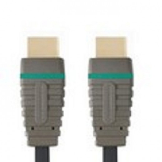 Bandridge BCL 2302 HighSpeed Multimedia HDMI-Kabel 2,0 m vergoldete Stecker