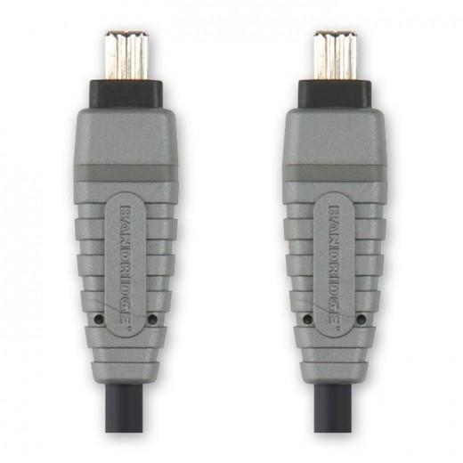 BANDRIDGE BCL 6105 Firewire 4Pin Stecker auf Firewire 4Pin Stecker 4,5 m vergoldete Kontakte