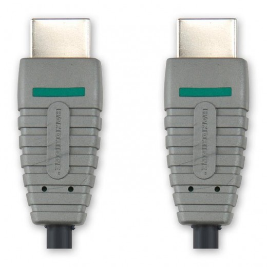 BANDRIDGE BVL 1001 (1,00 m) HDMI-A-Stecker auf HDMI-A-Stecker in 1,00m Länge