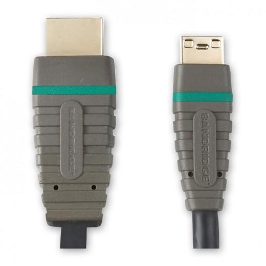 BANDRIDGE BVL 1502 (2,00 m) HDMI-A-Stecker auf HDMI-C-Stecker in 2,00m Länge