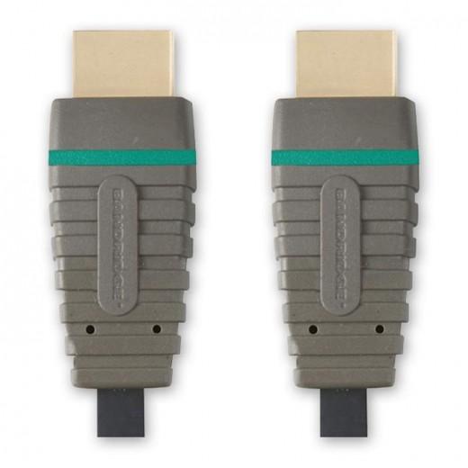 Bandridge BVL 1201 (1,00 m) HDMI 1.4 zertifiziertes Kabel HDMI-A-Stecker auf HDMI-A-Stecker in 1,00m Länge.