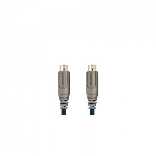 Bandridge CL81002X 6pin miniDIN Stecker auf 6pin miniDIN Stecker 1,8 m vergoldete Kontakte