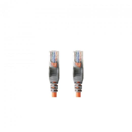 Bandridge CL74015O Kat. 5 Netzwerkkabel crossover 15,0 m vergoldete Stecker