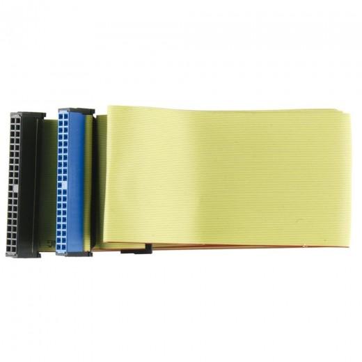 Bandridge CL03301I 3x IDC 40pin Kupplung ATA133 Flat 0,8 m vergoldete Kontakte