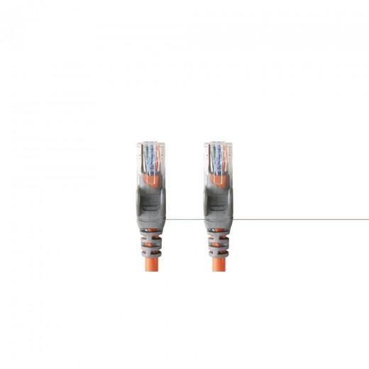 Bandridge CL74001O  Kat. 5 Netzwerkkabel crossover 0,5 m vergoldete Stecker