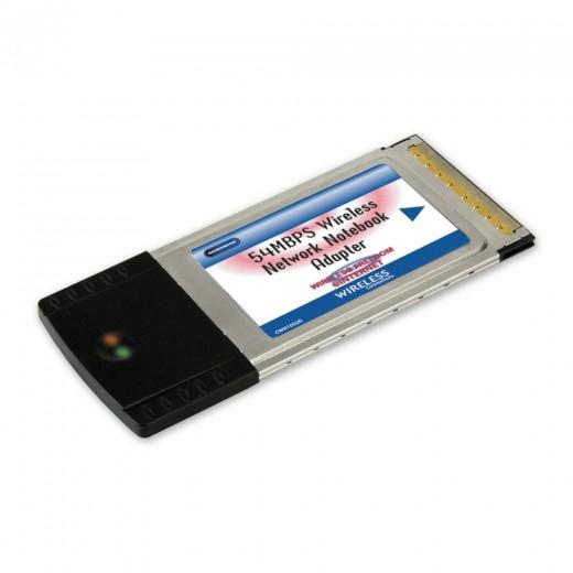 Bandridge CWN1002G (0,00m/Adapter) Wi-Fi® PCMCIA Adapter