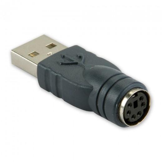 Bandridge CA46300X Adapter USB-A-Stecker auf PS/2-Kupplung