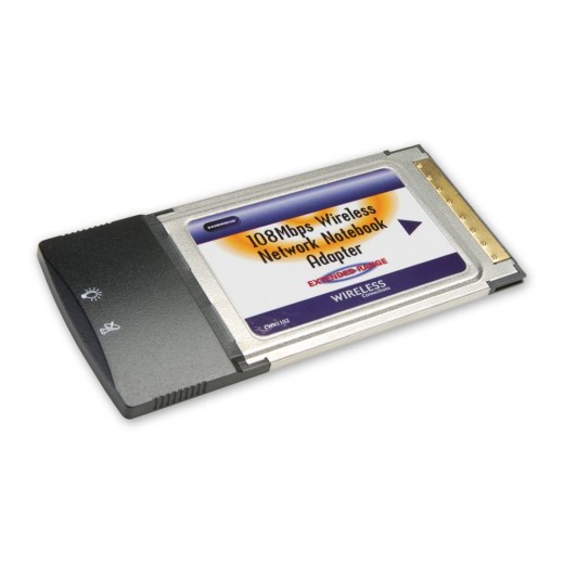 Bandridge CWN1102 (0,00m/Adapter) Wi-Fi® PCMCIA Adapter