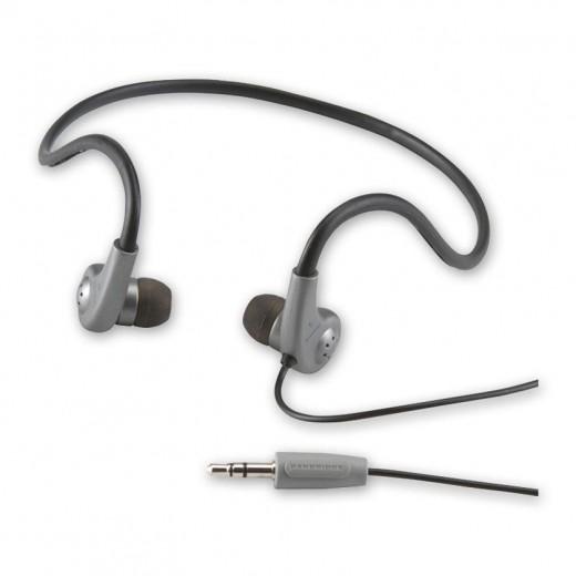 BANDRIDGE BHP 130 (1,20 m) Micro-Stereo-Ohrhörer Komfort mit Nackenband und einseitigem Kabelauslass