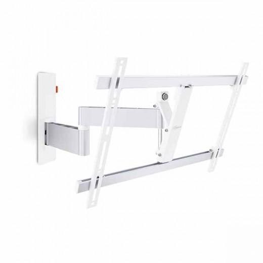 Vogels WALL 2345 weiß TV-Wandhalter 40-65 Zoll | 3 Drehpunkte, 180 Grad drehbar, 20 Grad neigbar