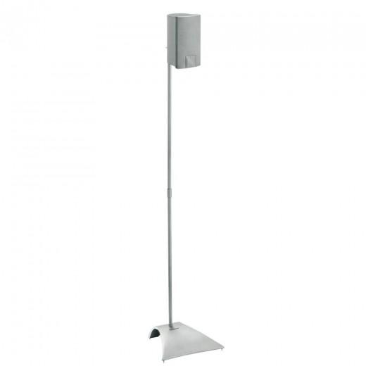Schnepel VLS 615  silber Lautsprecher-Ständer, 103cm,Paar