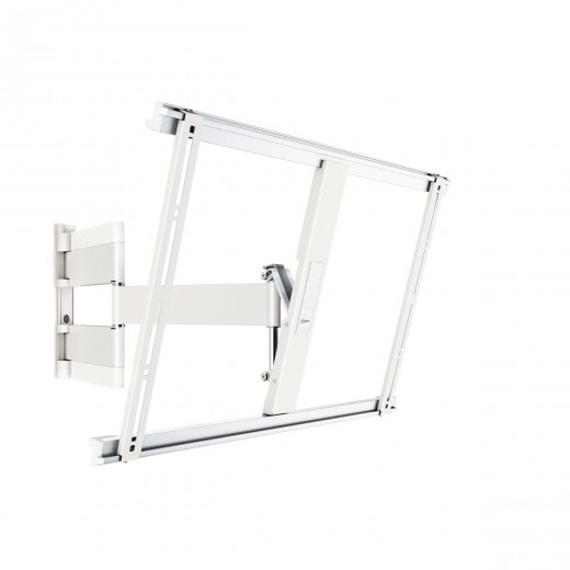 Vogel's THIN 545 TV-Wandhalterung für 102-165 cm (40-65 Zoll) Fernseher, drehbar und neigbar, max. 25 kg,  Vesa max. 600 x 400, weiß