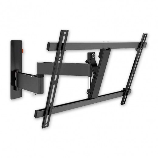 Vogels WALL 2345 schwarz TV-Wandhalter 40-65 Zoll | 3 Drehpunkte | 180 Grad drehbar | 20 Grad neigbar