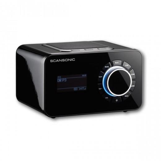 Scansonic R4S schwarz Internet/DAB+/FM-Radio