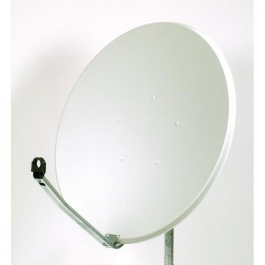 OFA 100 C - Satellitenschüssel aus Aluminium lichtgrau 100cm