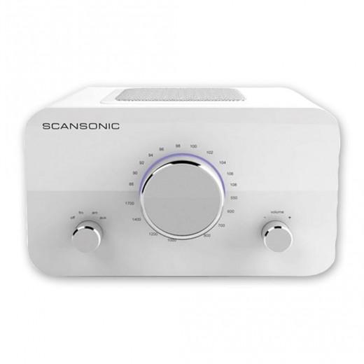 Scansonic R2 weiß UKW-Radio