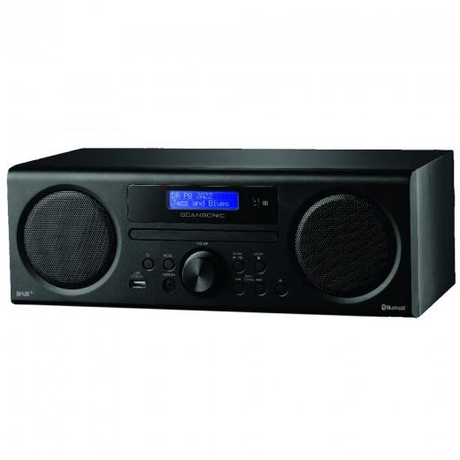 Scansonic DA 310 schwarz DAB+/FM-CD + Bluetooth Radio