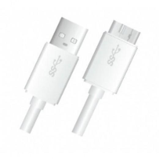 SinoxPlus SXI 5901 I-Media Micro USB 3.0 St. -  USB A St.,1,00m,weiß