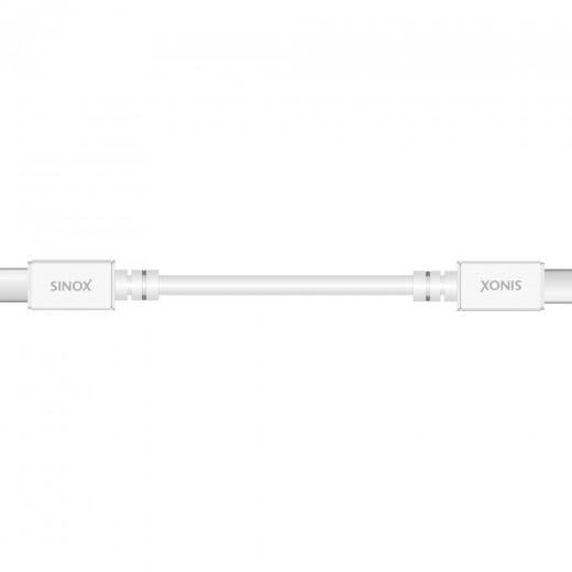 SinoxPlus SXI 6661 MFI  I-Media USB-C St. - USB-C St.,3.1,1,00m,weiß