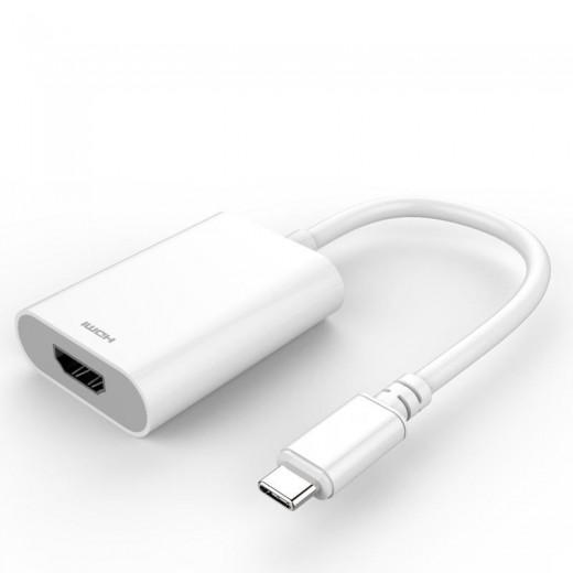 SinoxPlus SXI 66120 P I-Media USB-C St. - HDMI-Ku.,0,15m,weiß